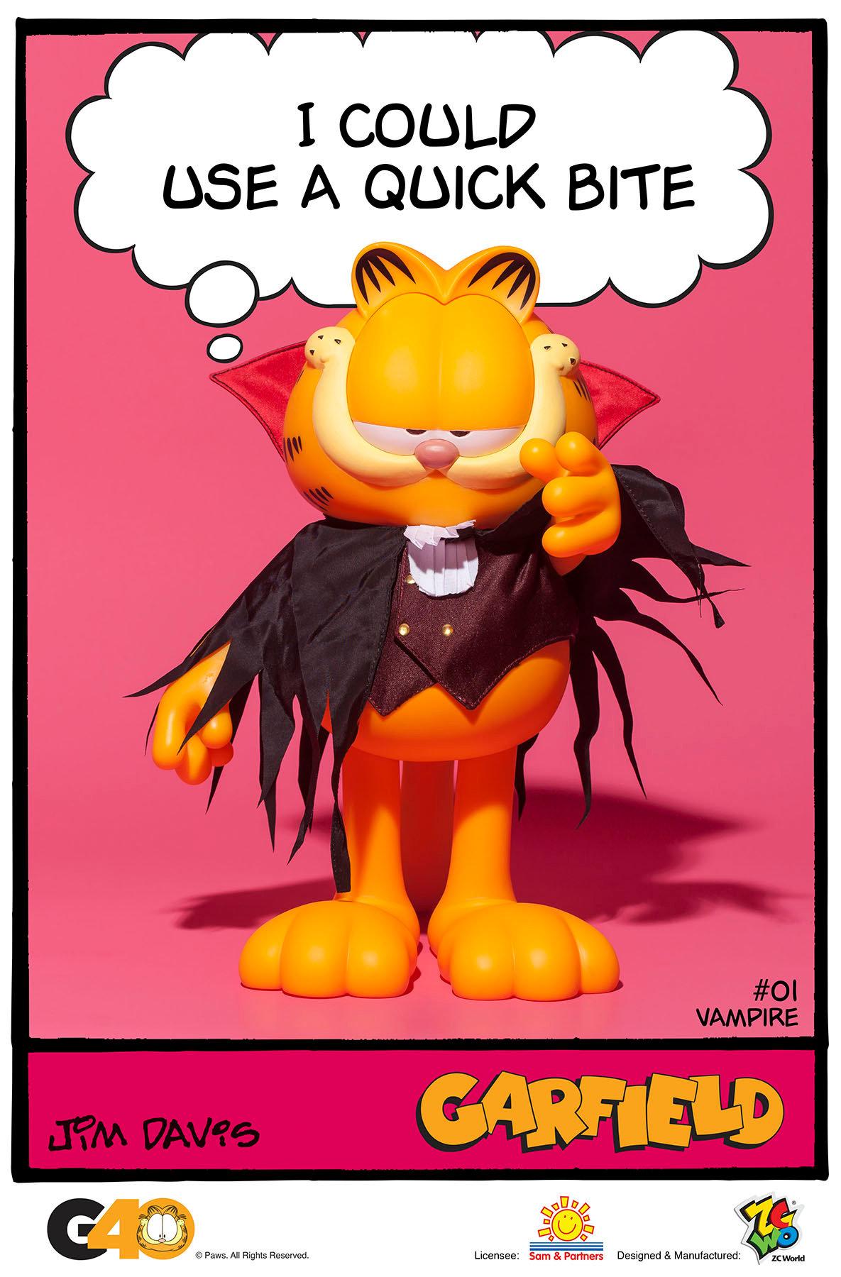 Garfield Master Series 01 Vampire Store
