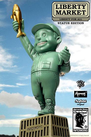 Supermarket Staff - Statue