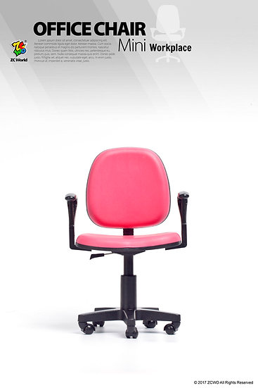 1/6 Scale Office Chair (Red)
