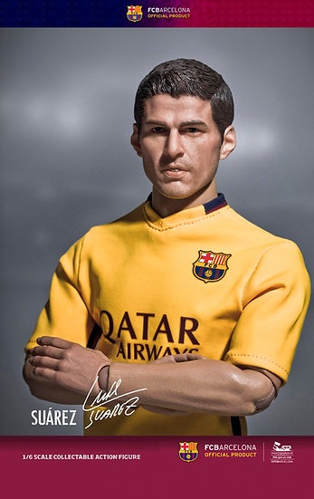 FCB 2015/16 - Suarez (Away Kit)