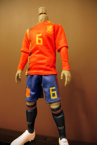 1/6 Scale National Team Jersey - Spain