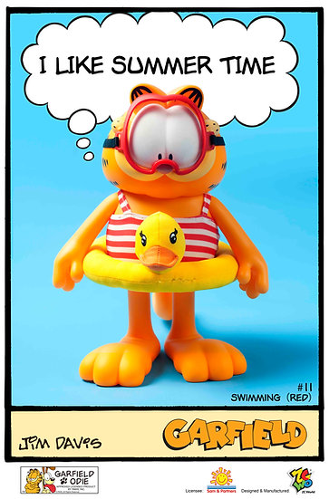 Garfield - Master Series 11 (Swimming Red)