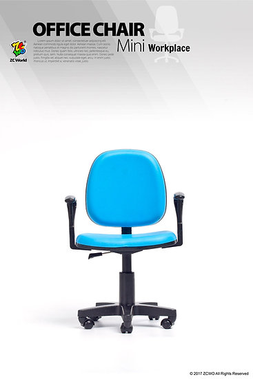 1/6 Scale Office Chair (Blue)