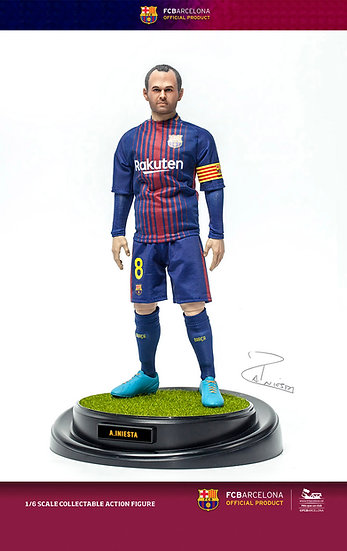 FCBarcelona 2017/18 - A.Iniesta (Limited Edition)