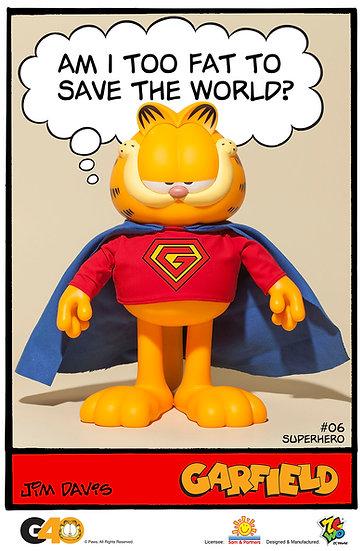 Garfield - Master Series 06 (Superhero)