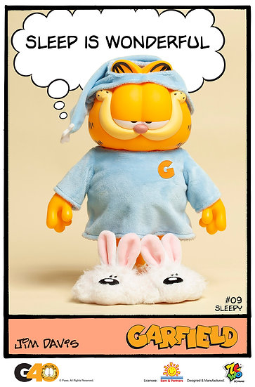 Garfield - Master Series 09 (Sleepy)