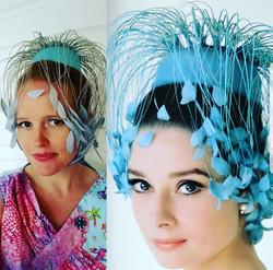 Audry Hepburn Reproduction Hat
