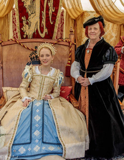 Queen Elizabeth I & Kat Ashley
