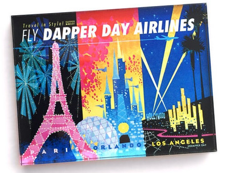 Travel In Style! - Fly Dapper Day Airlines