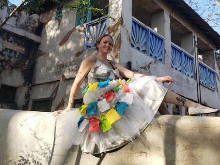 Adventures In Costuming - The Prayer Flag Dress