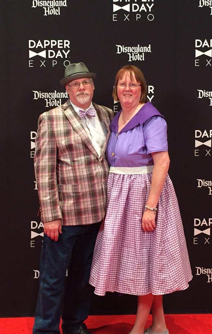 Mom & John on the red carpet.