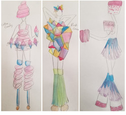 Circus Troupe Concept Designs