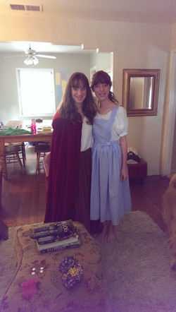 Dorothy & Red Riding Hood