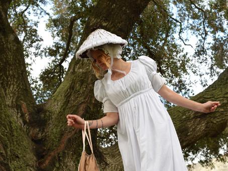 Regency Mushroom Bonnet