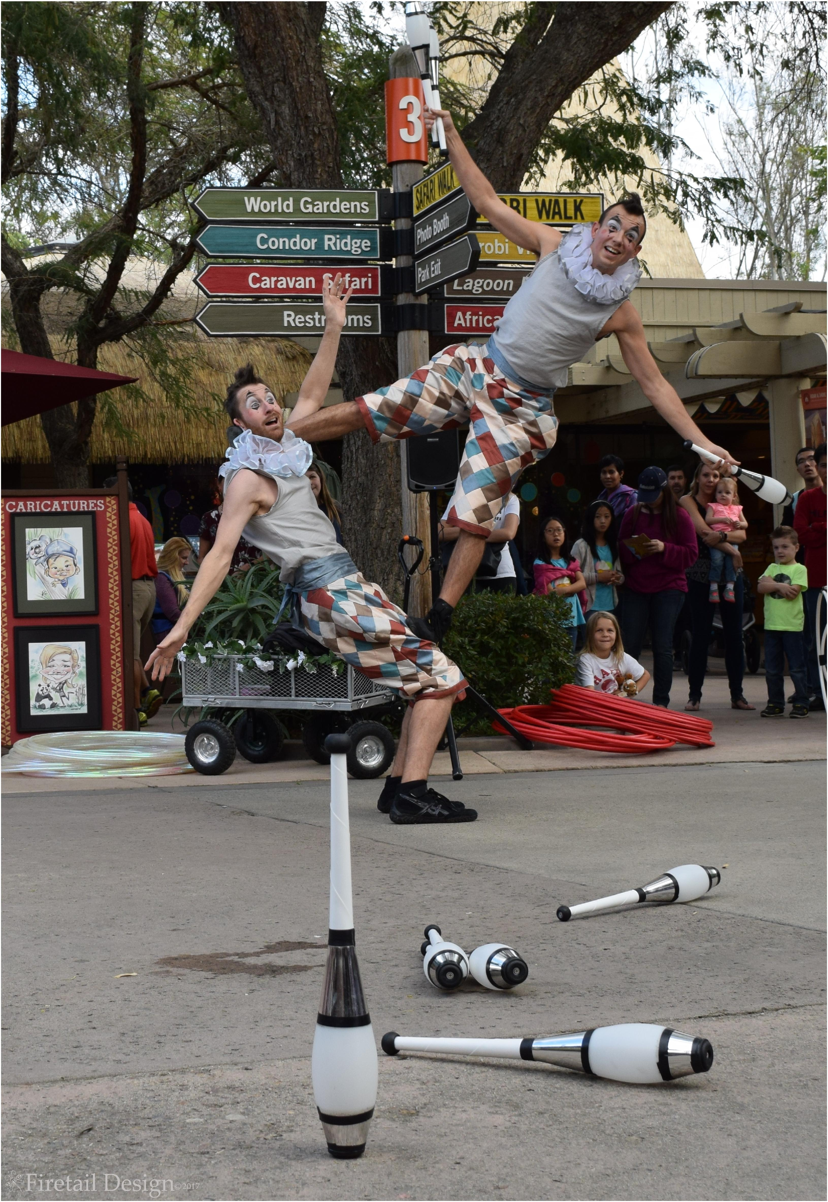 Harlequin Performers