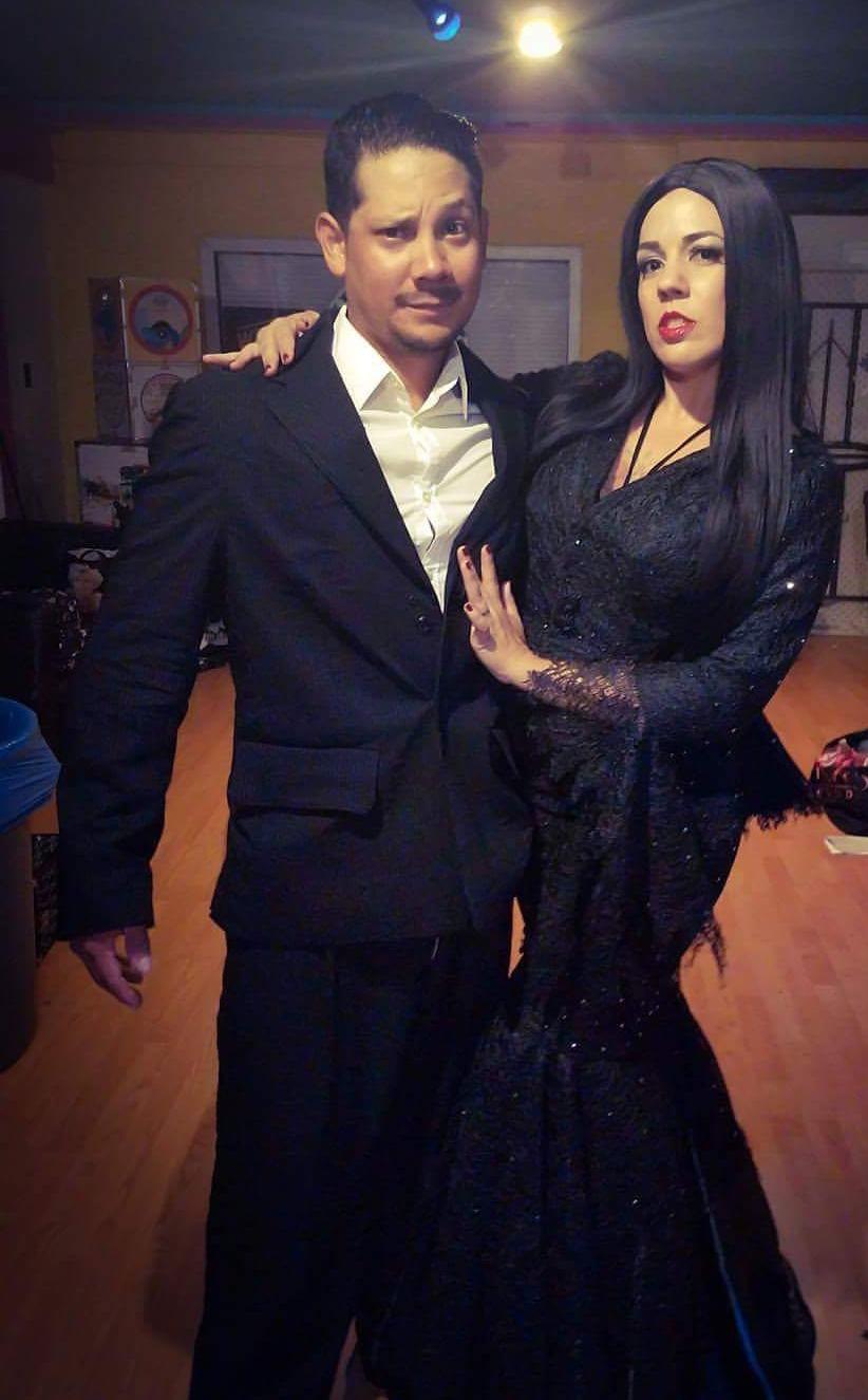 Morticia & Gomez Addams