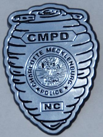 Plastic CMPD Kids' Badge