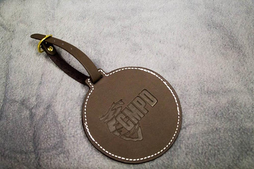 Leather Golf Bag Tag
