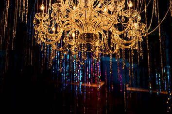 Chandaliers wedding decorations and event decorations