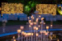 Romantic wedding decorations Spain Malaga Marbella
