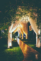 Cocoon Group Wedding Decorations
