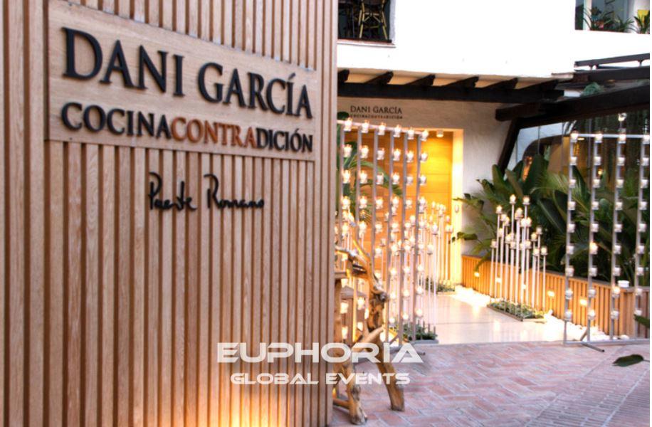 Dani Garcia with Euphoria