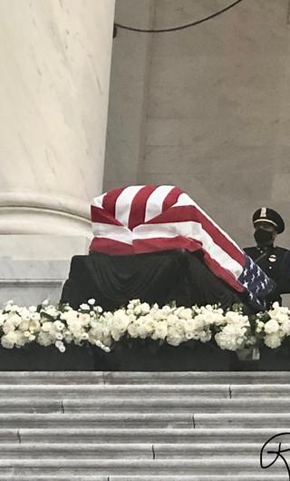 Washington D.C., memorial service for Congressman John Lewis.