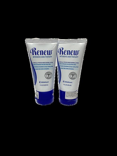 2 x Travel Size Melaleuca Renew™ Lotion Dry Skin Therapy – 30ml
