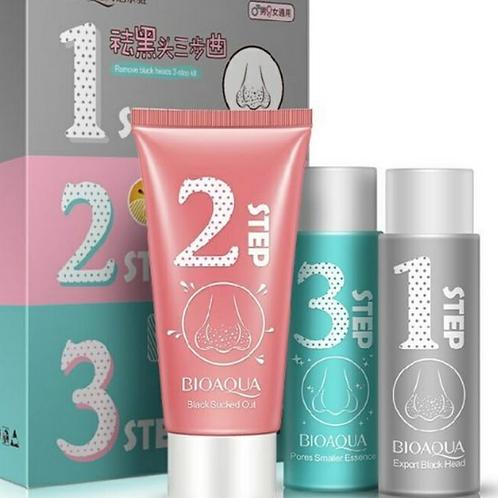 BioAqua 123 Steps Blackhead Acne Blemish Remover Set