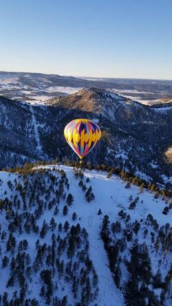 Hot Air Balloon View South Dakota