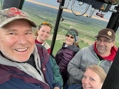 Flight for 4 adults