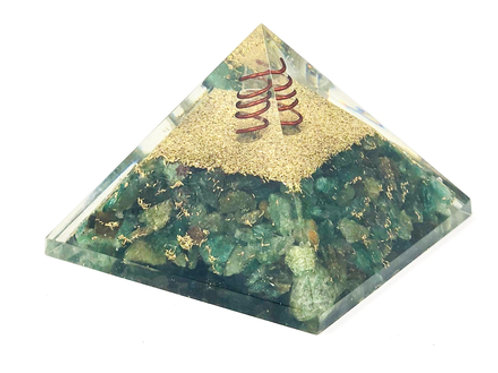 Orgone Energy Pyramid Green Aventurine (60-65mm) #3