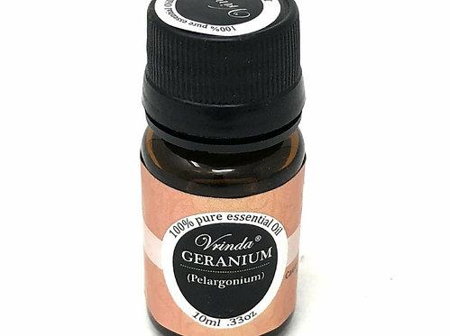 Vrinda 100% pure Essential Oil Geranium 10 ml