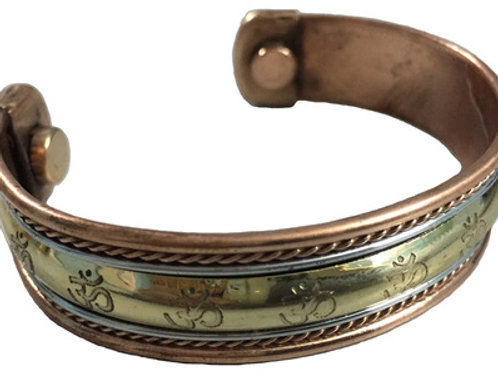 Copper Bracelet Magnetic (Om)