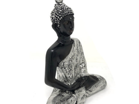 """Resin Meditating Buddha Statue 10"""""""