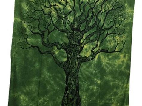 Tapestry Tree Green (135 x 220 cm)