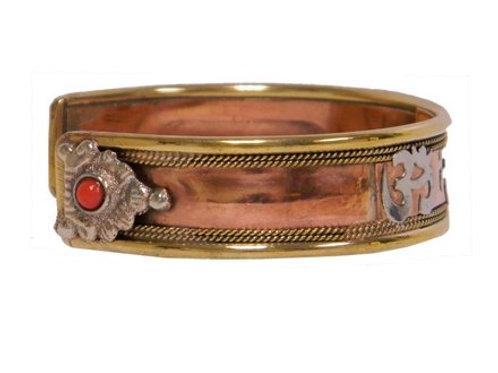 Copper Bracelet (Om namah Shivaya)