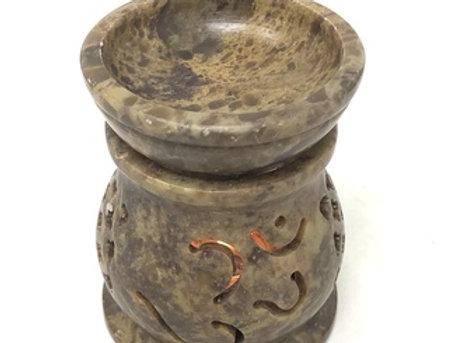 Stone Aroma Lamp 3''H (Om)