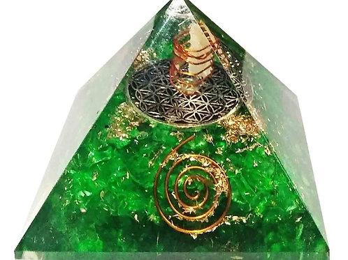 Orgonite Crystal Pyramid 2