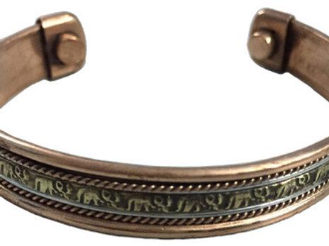 Copper Bracelet Magnetic (Elephant)