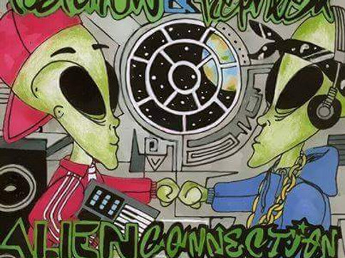 ALIEN CONNECTION - COMPILATION ALBUM(limited edition physical CD)