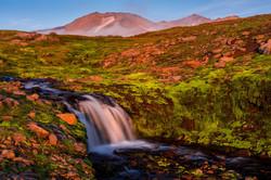 Камчатка. Мутновские водопады