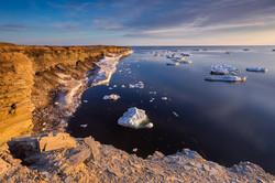 5. Summer drifting ice