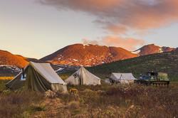Геологический лагерь