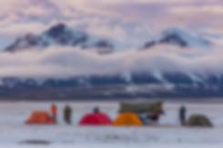 Наш лагерь около Сон-Куль