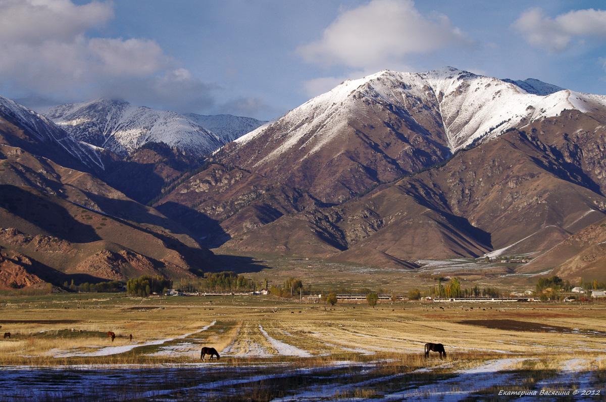 Северный берег Иссык-Куль