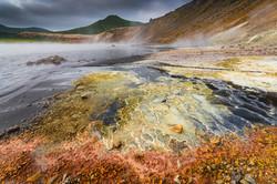 24. Colourful beach of Boiling lake