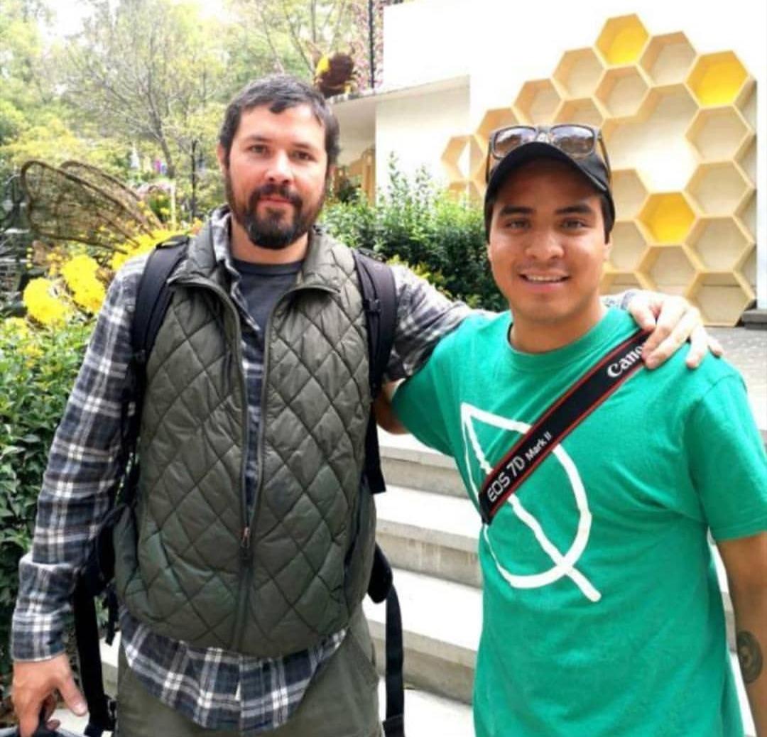 con Enrique Álvarez en el FYJA