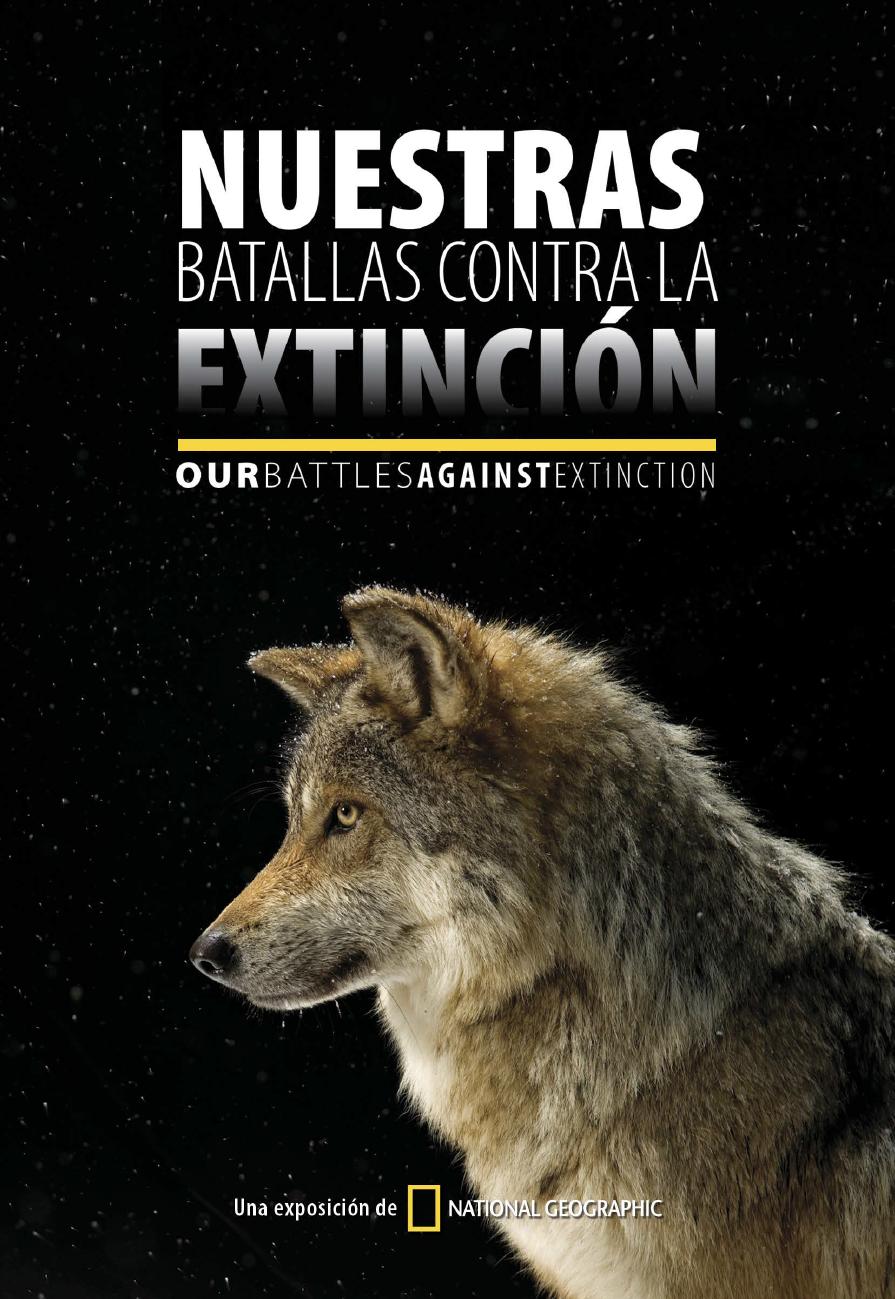 Our Battle against extinction