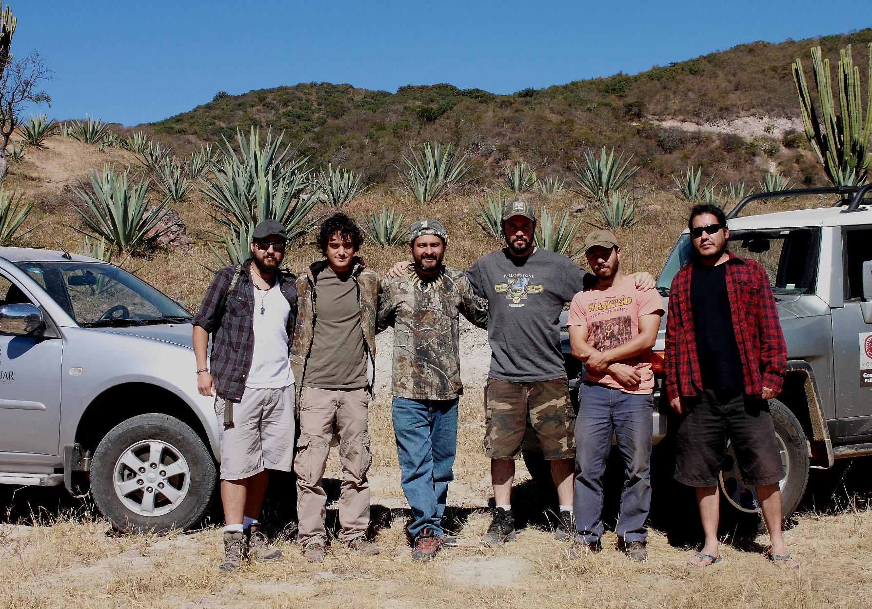 Rancho el Jabalín, Oax,. 2013